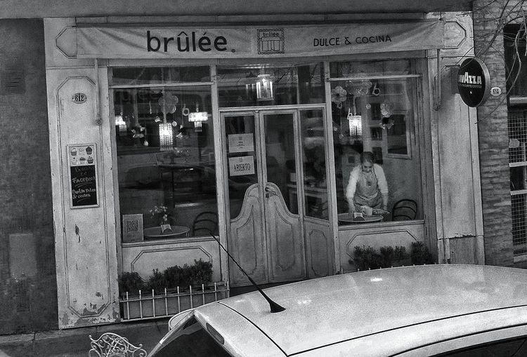 Bakery Bar Black&white Front Old Old Architecture Old Shop Streetphotography Buenos Aires, Argentina  Panaderia Old Buildings Street Fashion Black And White Photography Blackandwhite EyeEm Best Shots