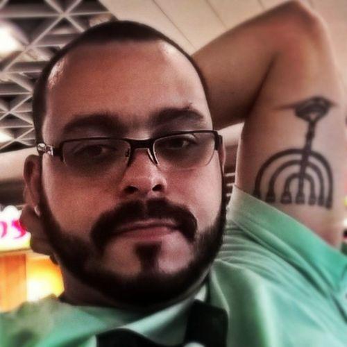 Selfie Interstate Airport WorkLife Bearded Glasses Tattoo