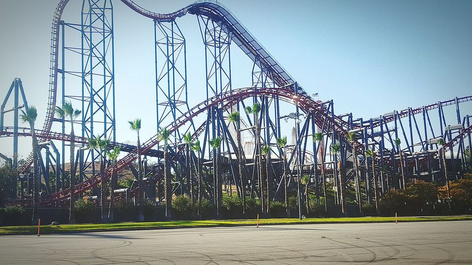 Six Flags Magic Mountain Rollercoaster Six Flags Magic Mountain Thrill Rides X2
