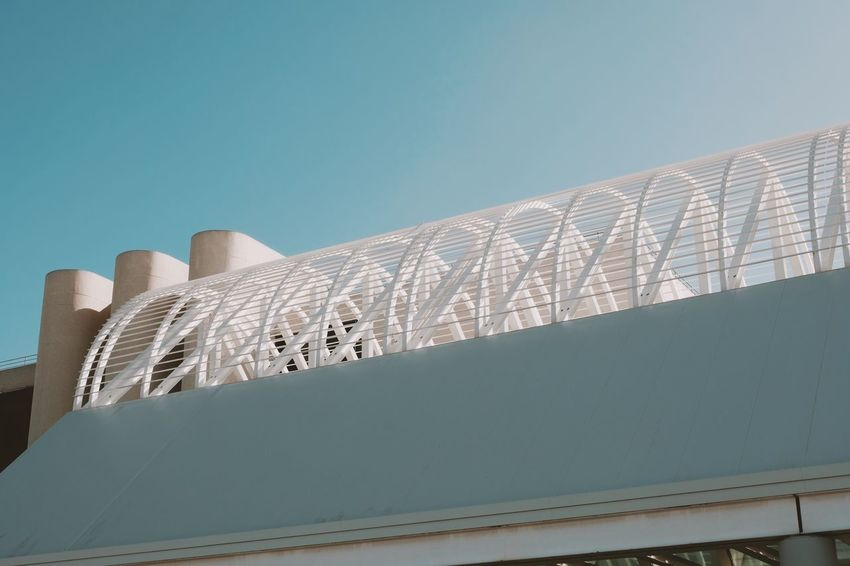 Architecture Low Angle View Sky Built Structure Building Exterior Clear Sky Blue
