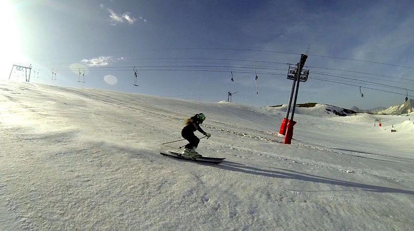 Girl Good Times Goodday HEAD Lesdeuxalpes Love Ski Skiing Snow Snow ❄ White First Eyeem Photo