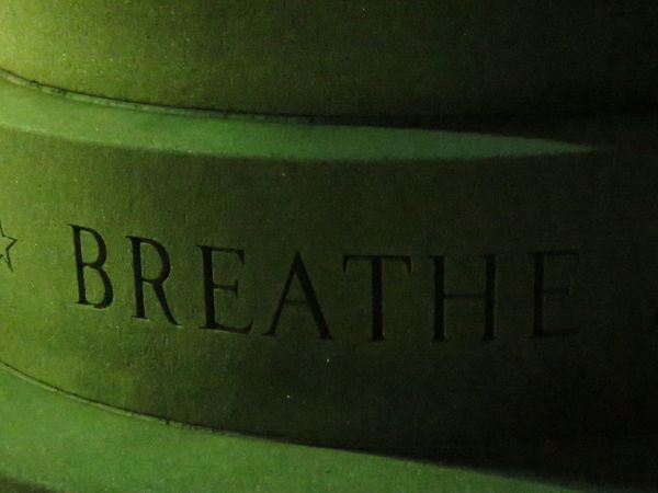 Just breathe Breathe Calming Image Close-up Hampton Beach Illuminated Monument Monuments New Hampshire Night Pictures No People Stone Words
