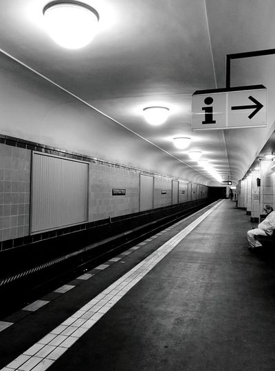 Day 297 - Info ➡ Berlin Public Transportation Ubahn Blackandwhite 365florianmski 365project Day297
