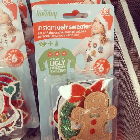 I never thought I would see the day... Uglychristmassweater
