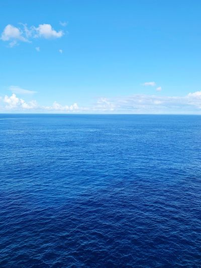 Ocean Sea Water Scenics - Nature Blue Sky Beauty In Nature Tranquil Scene Nature Seascape