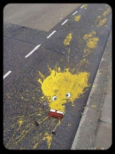 Ouch! Splash Bob L'éponge Spongebob