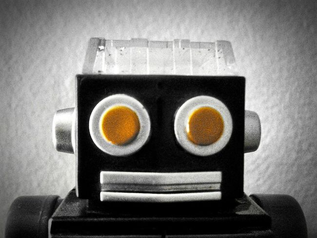The OO Mission Check This Out Robot Cheese! EyeEm Happyface Eyes EyesOnYou Staring At You Camera Hi! Black & White Yelloweyes