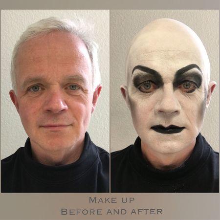 Makeup Maske  Magic Flute Zauberflöte