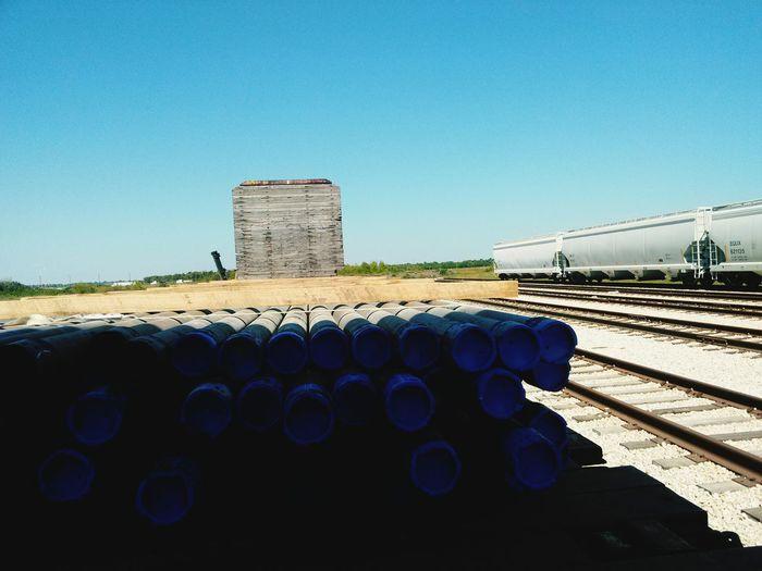 loading the train