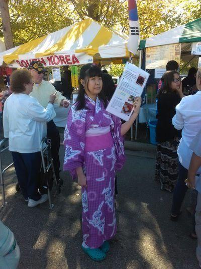 Kimono Beautiful ♥ Beautiful Girl Ethnic Expo