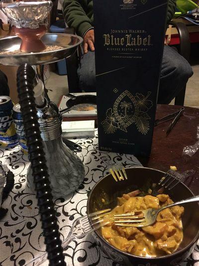 Johnnie Walker Blue Label Sashimi Bowl Hookah