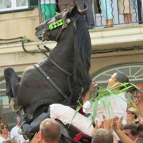 Esmigjorngran Menorquejant Cavalls Jaleo Santmiquel2015 via Consuelo Triay @xelinona