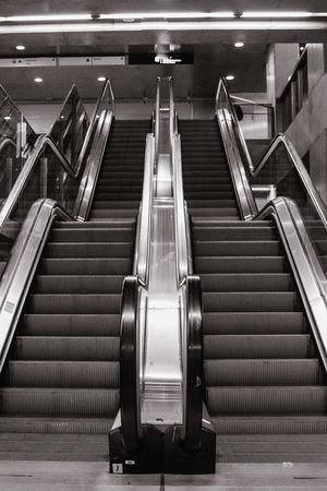 Hand Rail Futuristic Airport Steps And Staircases Airport Departure Area Steps Technology Staircase Railing Illuminated