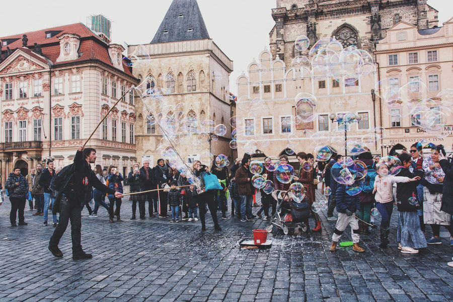 The show goes on. Street Artist The Street Photographer - 2018 EyeEm Awards Architecture Building Exterior City Crowd Entretainment Group Of People Large Group Of People Lifestyles Preformance Real People Street