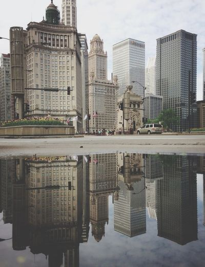 Puddleography GetYourGuide Cityscapes