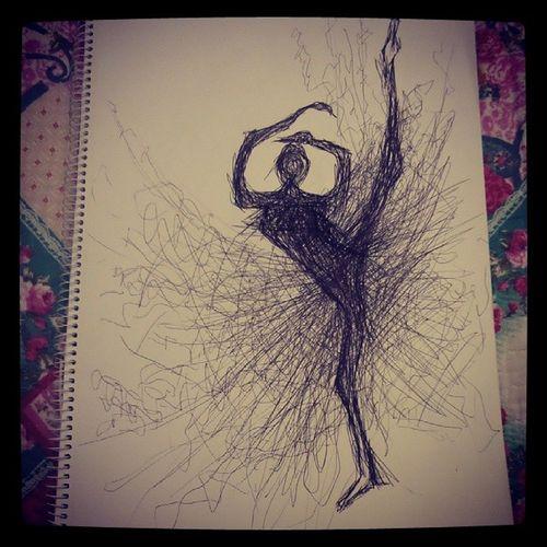 Just felt fascinated by a ballerina ... Scribblemysoul