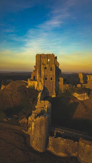 Corfe Castle,