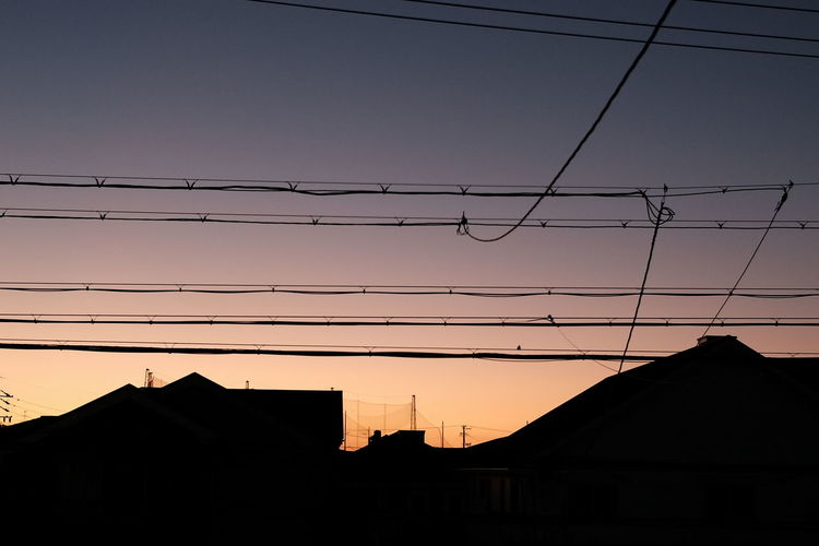 City Electricity Pylon Sunset Technology Mountain Electricity  Cable Silhouette Cityscape Business Finance And Industry