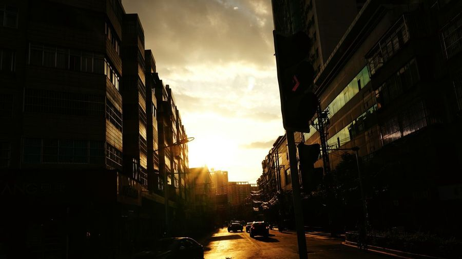Sunset City Architecture Outdoors Travel Destinations No People Sky Building Exterior Day