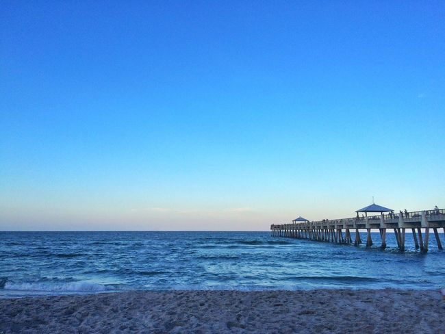 Juno Beach Beachphotography Sun Sunset West Palm Beach Sand Pier Fishing Water