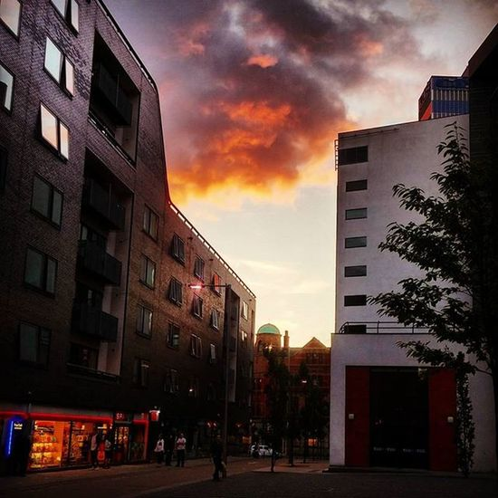 Autumn skies Northernquarter Manchester Mcruk MCR_Collective