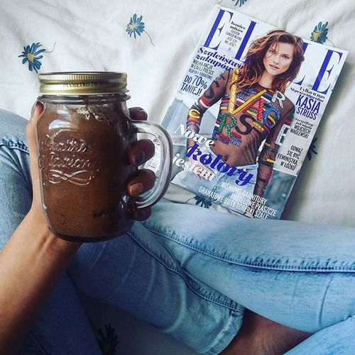 Jar Eat Drink Fit Crème Read Chill School Studing Sunday Inspiration Fashion Stylish Elle Mojeelle Legs