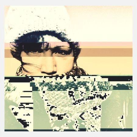 Glitch Selfportrait Portrait Glitcheapp