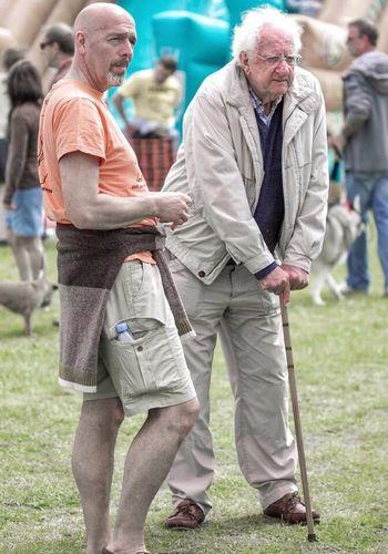 People And Places Togetherness Lifestyles Friendship Oldandyoung Bonding Dadandson Allgrownup Oldandwise Older Man