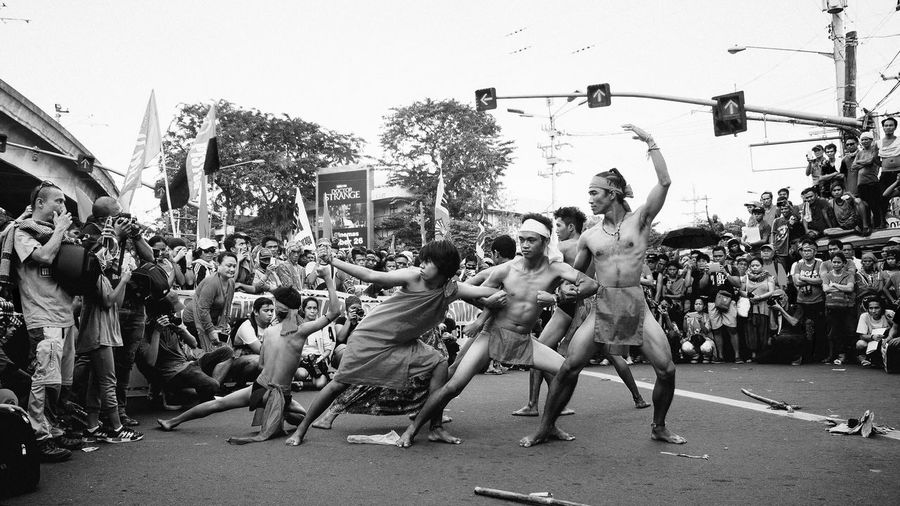 Indigenous Inspiration | Farewell to all our Lumad brothers and sisters. Thank you for teaching us the ways of 'panaghuisa' (solidarity). Continue fighting the good fight and may all your struggles turn into lasting triumph! Arts Culture And Entertainment Performance Audience Crowd Real People Large Group Of People Lumad Indigenous People Eyeem Philippines Photojournalism Street Photography People People Watching People Of EyeEm People Photography People And Places People Together Black And White Black & White Black And White Photography Monochrome Monochrome Photography Noir Eyeemphoto My Year My View Break The Mold
