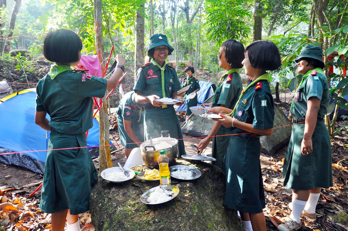 Activities Adventure Boys Camping Education Fun Girl Happy Knot Learning Life Style Nature People Pioneering Scout Scouts Skills  Student Summer Team Teamwork Tent Thai Thailand Thumb Stick Go Higher