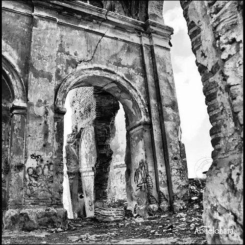 Sobrevivir al TERREMOTO. En Leganés . Ruinas de la Ermita de San Pedro.