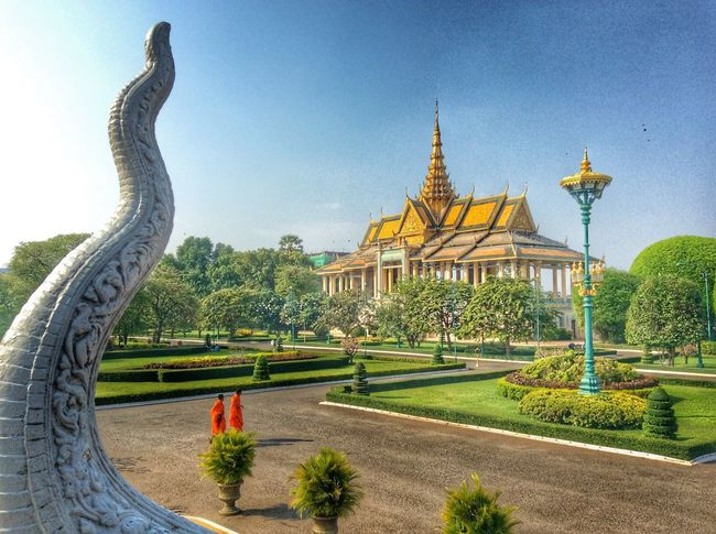 Royal Palace of Cambodia.