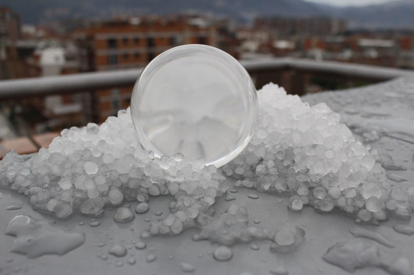 Circle Circular Close-up Cold Temperature Crystal Day Hair Ice Nature No People Outdoors Pieces Salt - Mineral Water