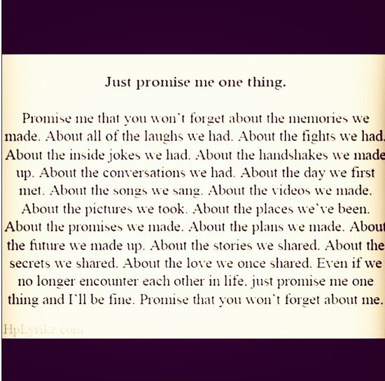 promise me ? /.\