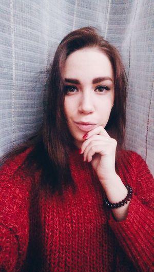 ❤️ Sexyselfie Lovegirl Red Beautiful LikeILYUHINA