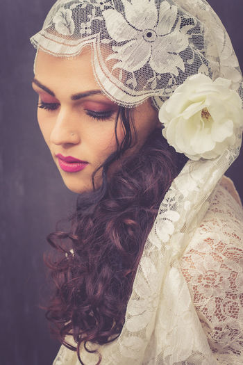 Vintage Vintage Style Retro Retro Styled Retro Style Portrait Of A Woman Portrait Portrait Photography Beauty Eyemphotography EyeEm Best Shots Eyemportrait Sardegna Italy Gipsy Gipsystyle GipsyGirl Gipsy Woman Haute Couture Headband Stage Make-up Ceremonial Make-up