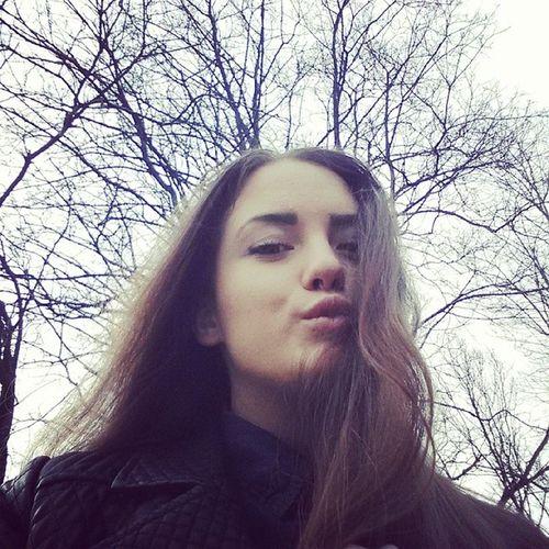 Tree Thefun Themeeting Sky love I hair tiger time day followme follow l4l like cool girl kiss