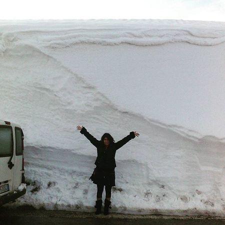 Agnone Molise Loves_molise Passeggiata Passeggiando Montagna Tempofa Neve Tantaneve Love_winter