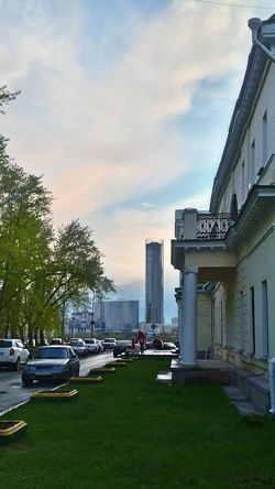 Architecture Built Structure Sky Modern Outdoors City No People Tree Екатеринбург Весна 2017 Россия Russia Architecture Temple Yekaterinburg Russia Street Spring