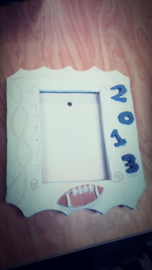 Picture Frame Made By Me Not Done Im Awsome Football
