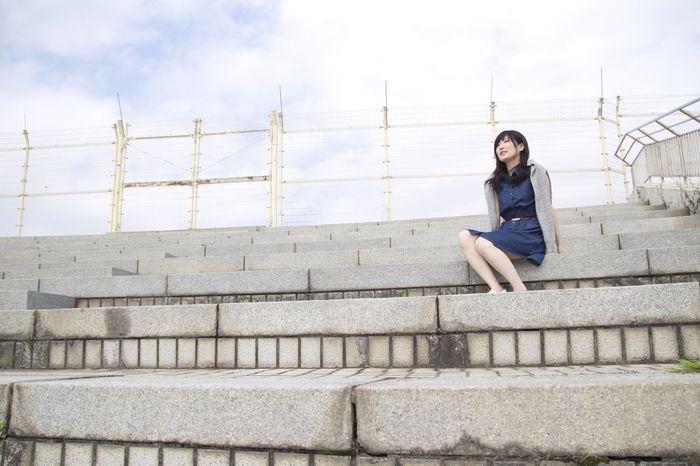 SUMMER 道 Street People Photo Girl Photography Pretty 日本 Japan Friends カメラ 可愛い 青春 爽やか Trip カメラ女子 夏 Summer 青春 Friend Asian Beauty ASIA Asian Girl Portrait