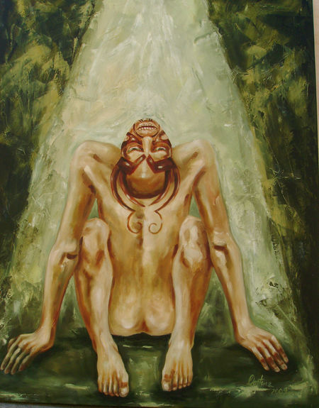 Art Culture And Entertainment Nüde Art. Oil Painting