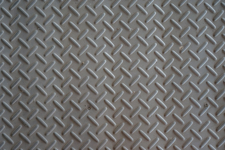 Rusted steel background Pattern Backgrounds Full Frame Metal Textured  Sheet Metal No People Indoors  Close-up Repetition Steel Design Alloy Abstract Diamond Shaped Textile Gray Shape Flooring Architecture Directly Below