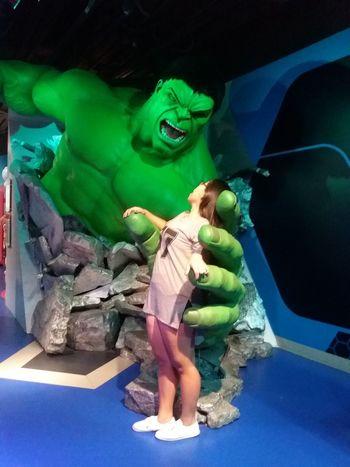 Showcase July ending my July with Hulk!!! Wheninhk Madametussauds IncredibleHulk