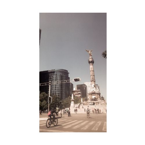 #AngeldelaIndependencia #MexicoCity No People Day