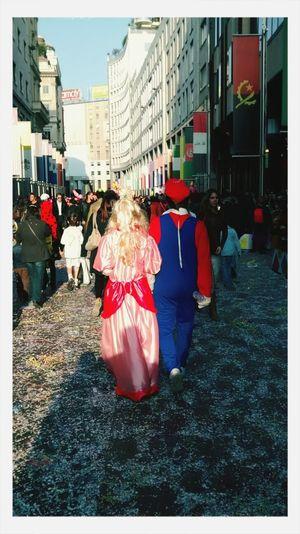 Milano Super Mario Carnevale Ambrosiano Travestimento