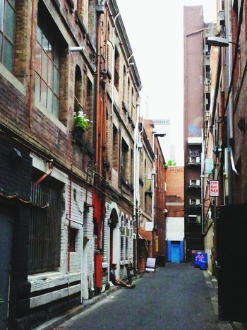 Melbourne Melbourne Laneways Architecture