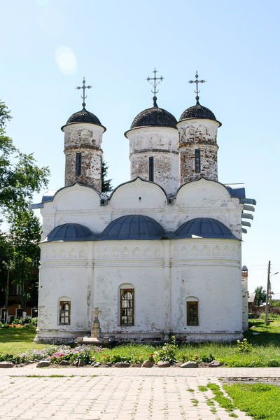 The Cathedral of the Deposition of the Robe Russia. Suzdal Ancient Architecture Architecture Building Cathedral Christianity Church Day Dome Golden Ring Monastery Museum No People Orthodox Outdoors Religion Russia Suzdal Golden Ring Of Russia