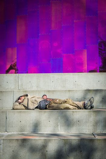 Emp Museum Experience Music Project Check This Out Seattle Seattle, Washington Afternoon Nap Home Is Where The Art Is Homeless Homelessness  EyeEm Best Shots EyeEm Gallery Juxtastreetphoto Colour Of Life Hidden Gems