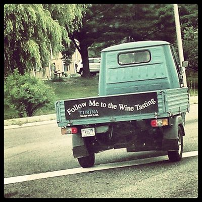 Yes please! Old Truck Wine Funny